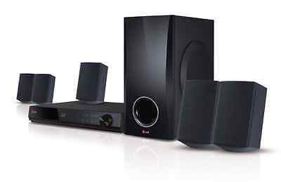 LG 3D Blu-Ray Player Home Theater System with 5.1Ch 500W Surround Sound Speakers