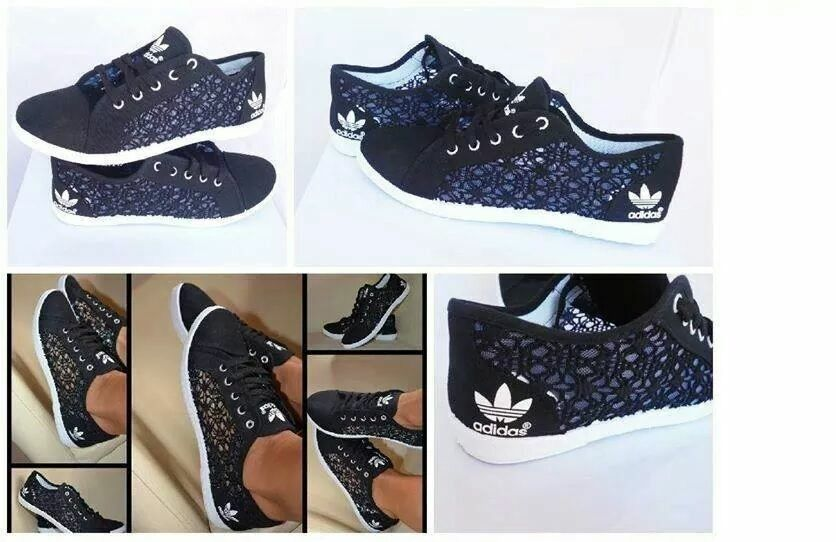 image gallery lace adidas sneakers