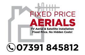 Tv aerial installation/repair engineer & sky installation/repair /tv wall mount Glasgow Clydebank