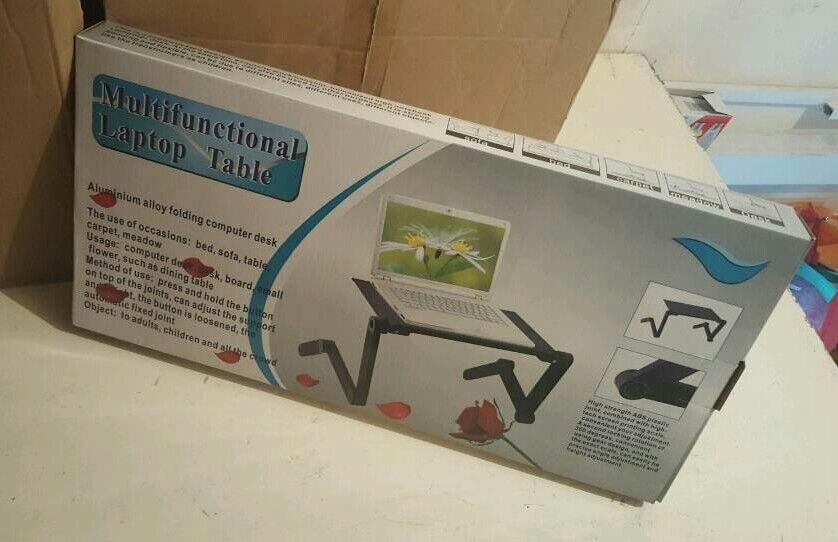 LAPTOP METAL TABLE NEW SEALEDin Coventry, West MidlandsGumtree - LAPTOP METAL TABLE NEW SEALED