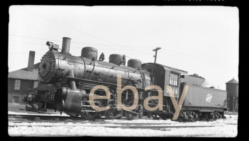 Chicago North Western 0-6-0, 2614, Chicago, 1954 - B&W Negative