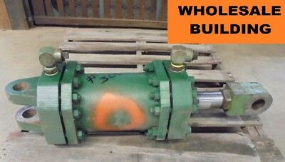 Hydraulic Cylinder 8 Bore Approx 8 Stroke 2.5 Rod 38 Overall Length
