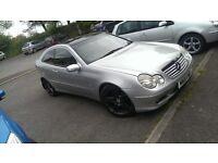 Mercedes C220 CDI automatic tiptronic. read description