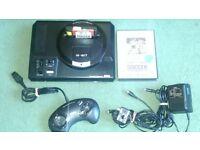 Sega Megadrive Gen 1 with FIFA