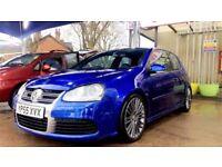 VW Golf R32 DSG Deep Blue 3.2 V6, Scorpion Exhaust, ***BARGAIN***