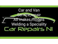 Car Repairs (audi bmw citroen dacia ford hyundai jeep land rover suzuki seat vw)