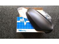 Left side wing door mirror cover Black colour for Vauxhall astra