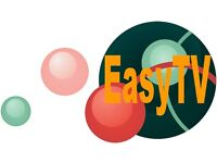 Aerial and Satellite specialist, Free estimates on all new installations, EasyTV, TV made easy.