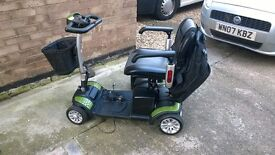 tga eclipse mobility scooter with spare battery box,21ah model