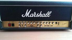 Marshall TSL 60 Amplifier head .