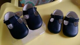 Pram Shoes 3-6 months and 6- 12months) As new.
