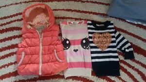 Next puffer vest +H&M knit + cotton on knit size 2y $15 Doncaster Manningham Area Preview