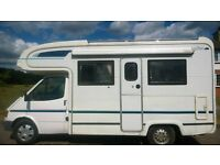 FORD HERALD MOTORHOME...GENUINE LOW MILEAGE 57,500...PERFECT TO ESCAPE TO THE BEACH