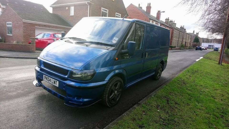 Modified Transit Van Swb Full Mot Body Kit Alloys