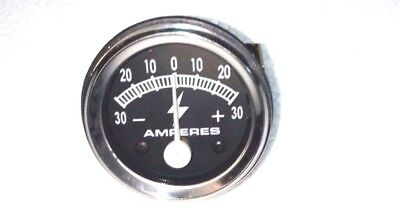 30 Amp Tractor Equipment Ammeter Gauge Massey Ford Allis Ih John Deere Farmall