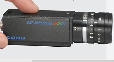 Cohu Color Camera Model 3612-1050 12 Sensor Pal Machine Vision Or Security