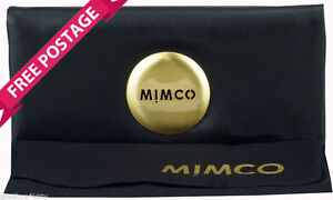 MIMCO MIM Wallet Purse Black Gold Matte Leather RRP149 NEW ~ FREE Postage