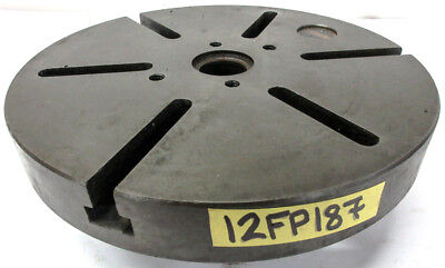 Warner Swasey 12 Lathe Face Plate A2-5 Mount M-1675 Usa
