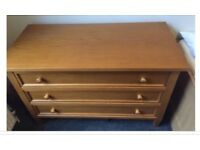 Chest of drawers solid wood