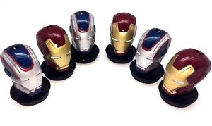 (6) IRON MAN THEATER CUP TOPPER / PARTY FAVOR / CUPCAKE CAKE  NEW