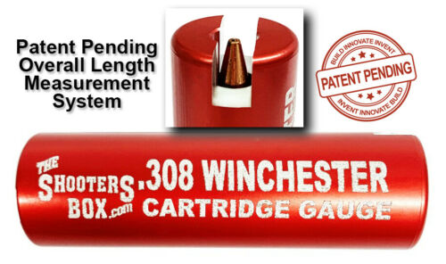 308 Winchester Case & Ammunition Gauge - For Checking Your Ammo - Free Shipping!
