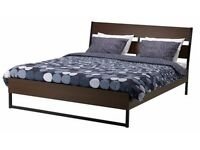 Ikea Trysil Double Bed and Mattress