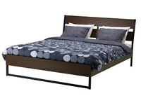 TRYSIL double bed IKEA 1 year old, was £170 new