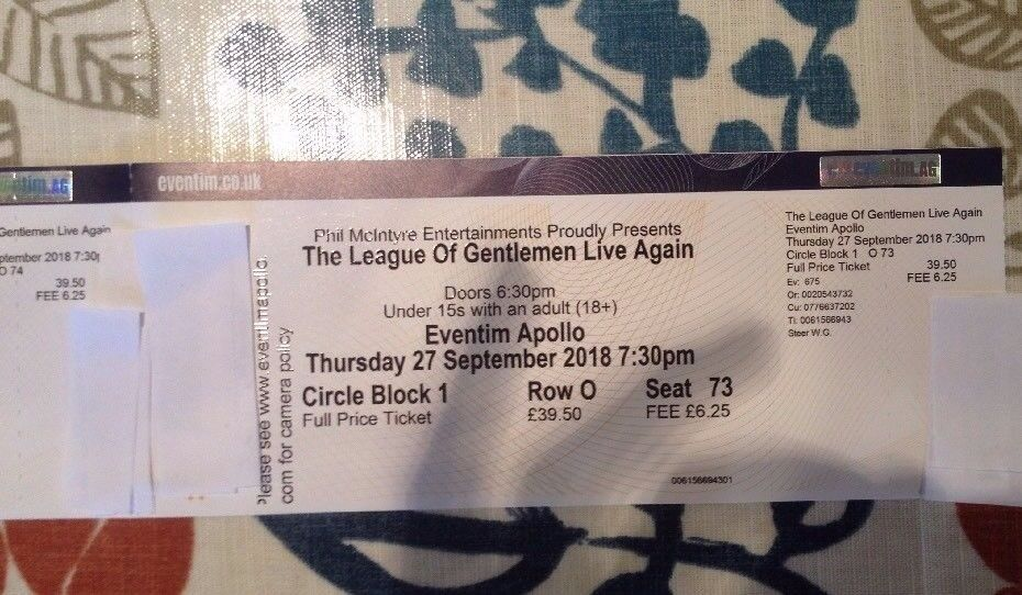 The league dating tickets