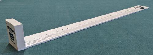 Fishing Ruler Nose Bump Plastic Measuring Device 30 inch Fish Ruler