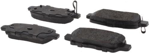 REAR SET Posi Quiet Extended Wear Brake Disc Pads 106.09051 + Hardware Kit