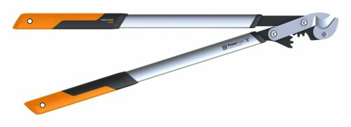 Fiskars Astschere PowerGearX Amboss-Getriebeastschere  Lx99, Baumschere 80 cm