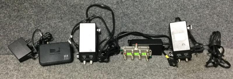 2 Directv SWM Power Inserter Supply 21V PI-21R1-01 SWIM LNB Green Label & more