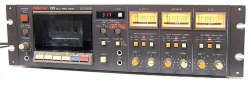 🔥【PRO REFURB】Tascam 133 Multi Image 2-Sp/3-Ch Cassette Deck!Dolby/DBX💥GUARANTY