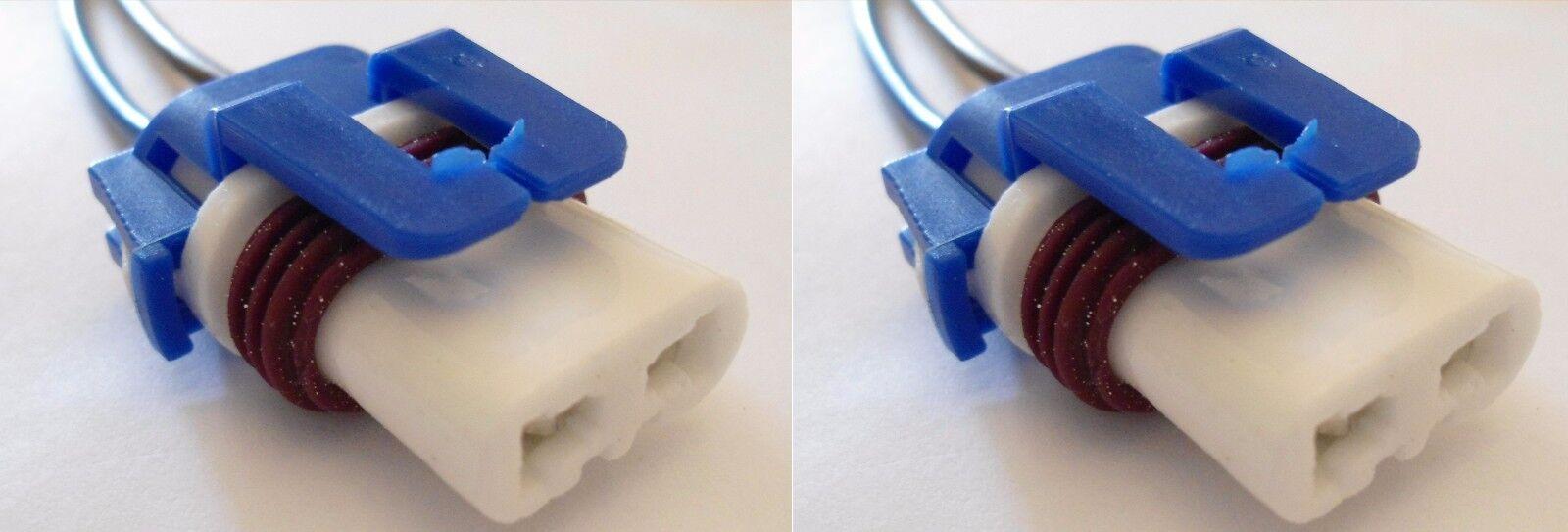 2 X 9005 Hb3 Female Ceramic Bulb Socket Pigtail Connector Halogen Wiring An Outlet Headlamp Light