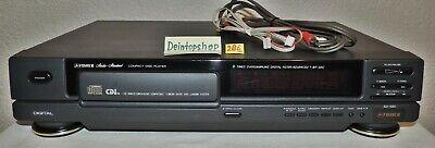 CD-Player FISHER AD-580 schwarz, mit Netzkabel + Remote-Kabel + Cinchkabel #0286 ()