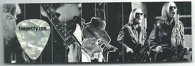 Tom Petty Guitar Pick Last DJ Tour Cardboard Bookmark Heartbreakers Fender Rock