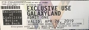 Galaxyland tickets for April 26th! Up to 20 available!