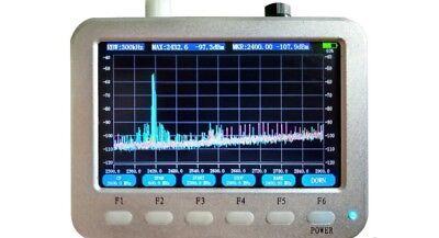 5 Lcd 240mhz960mhz Handled Rf Spectrum Analyzer Spanrbwcentmarker Maxhold