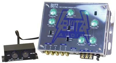 New! Blitz 2-Way Electronic Crossover Network with Subwoofer Level Control