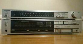 Technics SU-Z35 amplifier + Technics ST-Z35L tuner