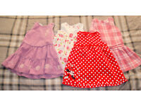 12-18 months GIRLS CLOTHING BUNDLE 32 ITEMS *NEXT*H&M* MOTHERCARE* MINT COND.