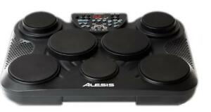 ALESIS COMPACTKIT 7 7-PAD PORTABLE TABLETOP DRUM KIT FOR SALE - BRAND NEW CRAZY PRICE - $239