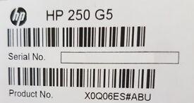 HP 250 G5 i3, 8GB RAM, 256GB SSD hard drive Laptop as New