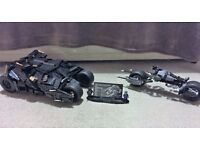 Chinese Lego Batman Tumbler and Bat Pod
