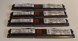 64GB 4x16GB 10600R PC3L VLP low profile workstation and server memory