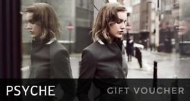 Psyche Gift Card Worth £224.97 For Only £200 Cash!