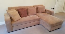 Corner Sofa bed - Left or right hand side. Used in good condition - Owned from new.