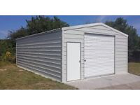 Storage building 5,7 x 9 m - No foundation required - Building kit