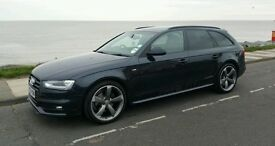 Audi a4 diesel estate 2013 model 177bhp may px vwt5