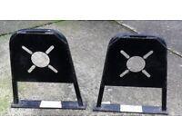 CARAVAN / TRAILER ETC SECURITY STANDS PAIR